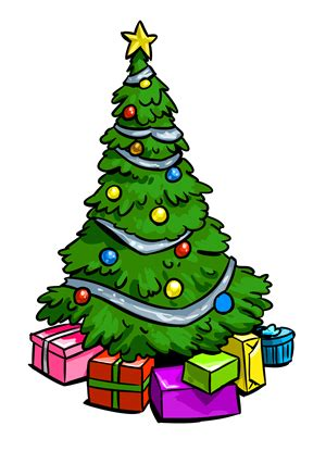 cartoon christmas tree december clip tree modern clipart clipart suggest