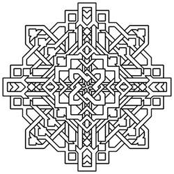 printable geometric coloring pages free printable geometric coloring pages for