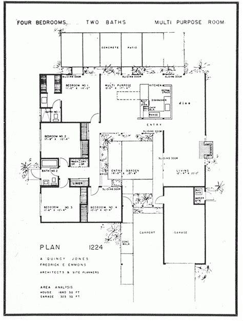 eichler homes floor plans awesome eichler homes floor plans new home plans design