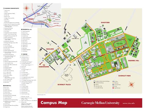 cmu map maps directions the robotics institute carnegie mellon