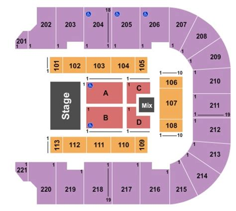 bancorpsouth arena seating capacity bancorpsouth center tickets in tupelo mississippi