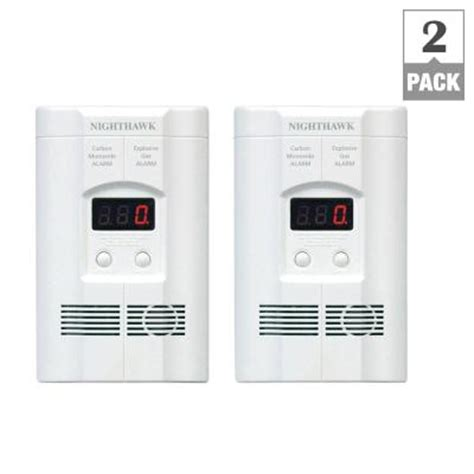 kidde ac in gas carbon monoxide detector with battery