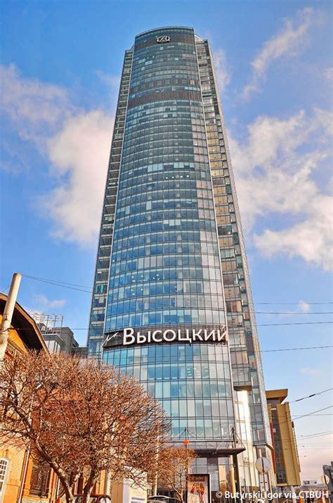 vysotsky business center  skyscraper center