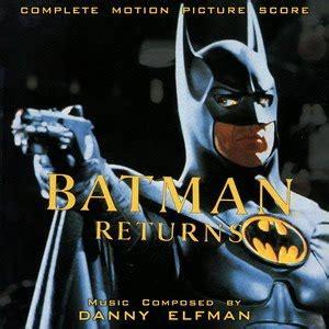 danny elfman batman soundtrack world of soundtrack danny elfman batman returns