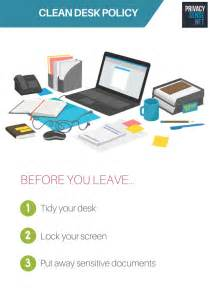 What Is Clean Desk Policy clean desk policy poster a free poster to help enforce a
