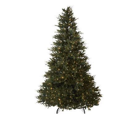 santa s best 7 5 frasierfir christmas tree with ez power