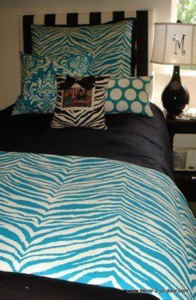 cute college bedding zebra print ls foter