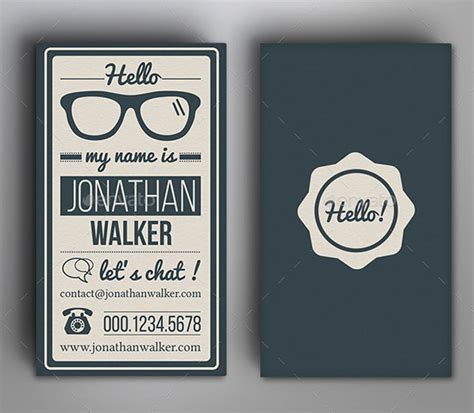 vintage business cards templates free 25 cool psd retro vintage business card templates
