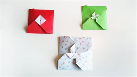 How To Make Envelope by Hd Tuto 2 Fa 231 On De Faire Une Enveloppe En Origami 2