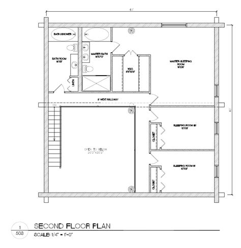 my home blueprints plans package 40x40 log home builders association