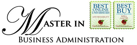Masters In Business Vs Mba by Business Administration Masters In Business