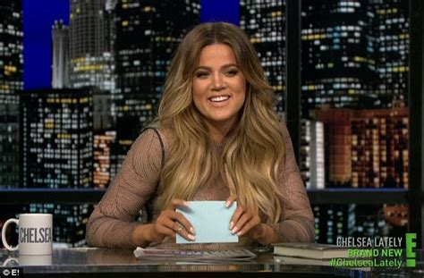 chelsea handler makes shocking joke in new interview daily khloe kardashian makes crude joke about brother rob as she