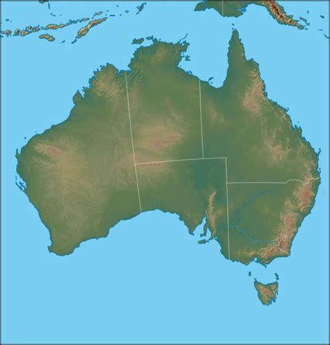 geographical map australia physical map of australia australia political map