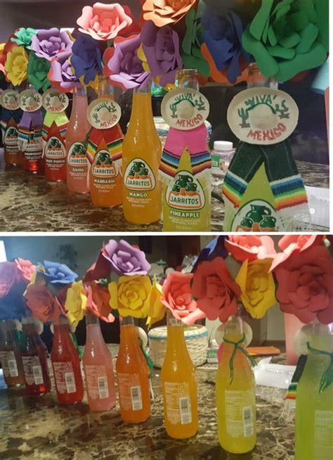 jarritos paper bouquet centerpieces mexicana in