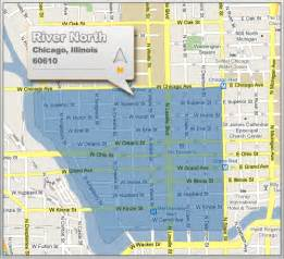 River North Map Chicago by River North Real Estate For Sale View River North Mls
