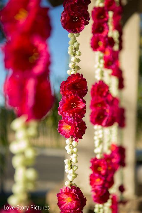 floral  decor  sacramento ca indian wedding  love