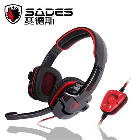 Headset Gaming Sades Sa 905 aliexpress buy sades sa 901 gaming headset 7 1 channel dota2 lol cs headphone with