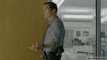 Middle Finger Meme Gif - matthew mcconaughey gif find share on giphy