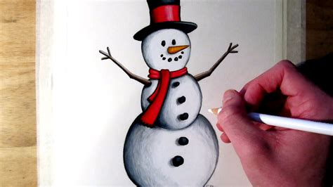 Bolpoin Drawing Snowman 0 1 9 42 mb how to draw a snowman 1149 dxshare cf