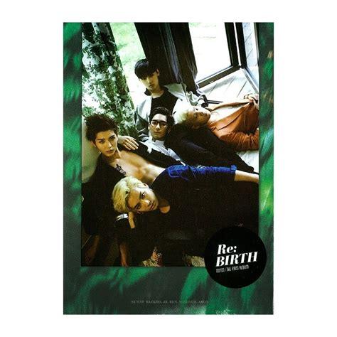 Nu Est Mini Album Vol 1 nu est 뉴이스트 vol 1 re birth the album 233 dition