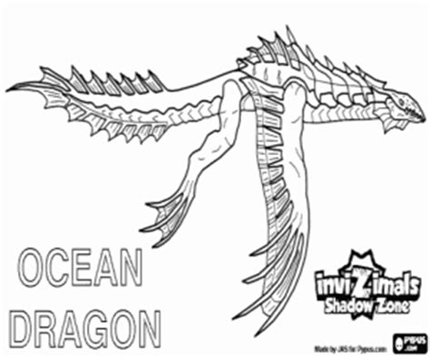 water dragon coloring page invizimals shadow zone coloring pages printable games 2
