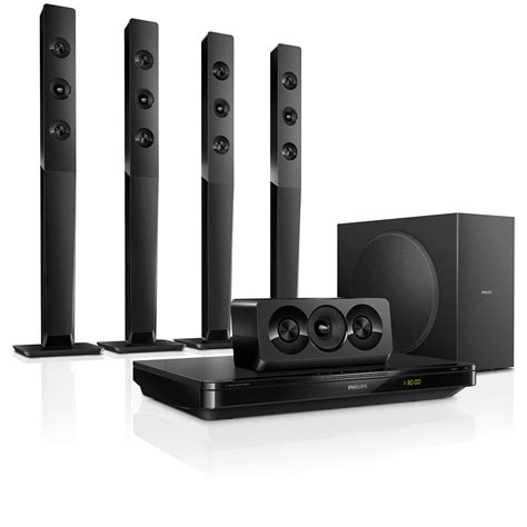 Home Theater Philips 3d 5 1 home theater system philips smart tv htb3570 12