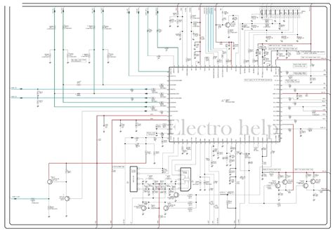 circuit schematic cl21a551 samsung crt tv circuit diagram tda12120h smd