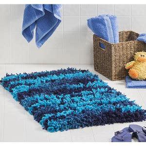 crochet shag rug modern shag rug allfreecrochet