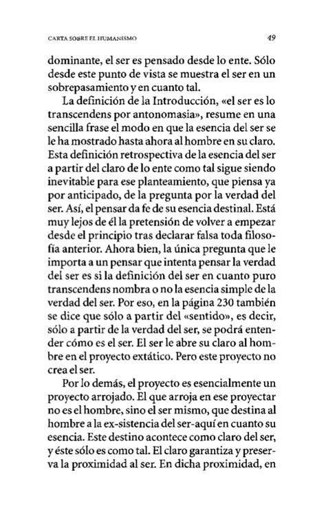 libro carta sobre el humanismo carta sobre el humanismo de heiddeger