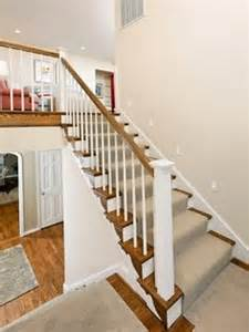 shelby banister split level on newel posts banisters and