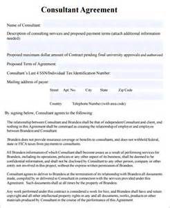 Free Consulting Template by Consulting Agreement 7 Free Pdf Doc