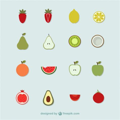 fruit free fruit icons vector free