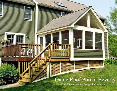 house with a porch want to convert your deck to a porch suburban boston