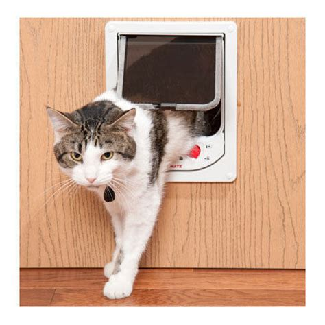 Pet Doors For Cats by Cat Mate Electromagnetic Pet Door Flap Keep Out