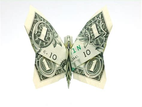 Won Park Dollar Origami - beautiful origami made of dollars by won park noupe