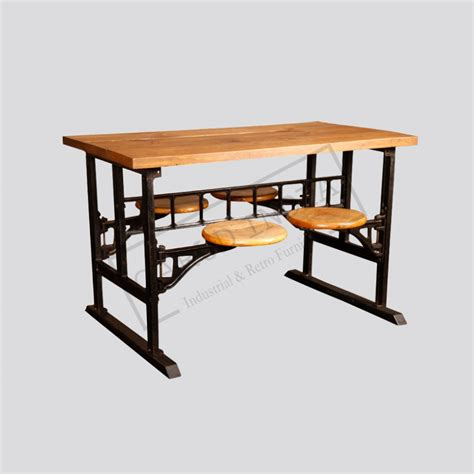 4 seater dining table industrial 4 seater dining table