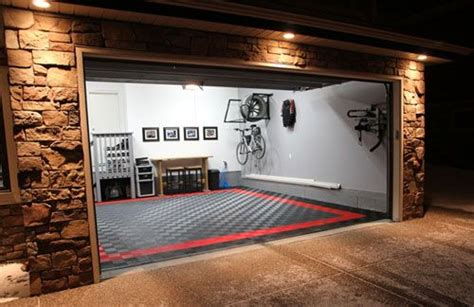 cool garage floors cool garage flooring home garage shop shed pinterest