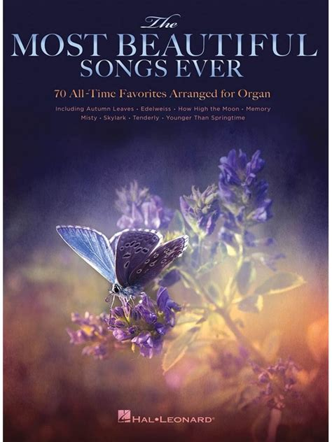 most beautiful in the room tab the most beautiful songs 70 all time favorites arranged for organ organ sheet