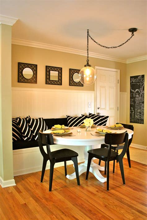 banquette seating in kitchen diy kitchen banquette part 2 love your home