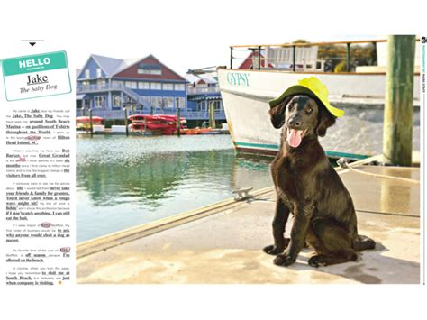salty dog boat name hilton head magazines ch2 cb2 march 2012 hello my name