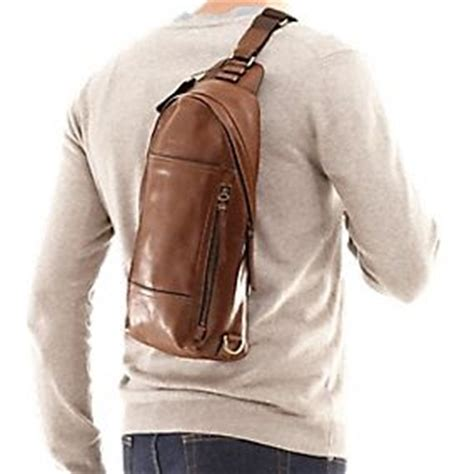 Lova Mini Sling Bag Jjm1802 bleecker leather convertible sling pack