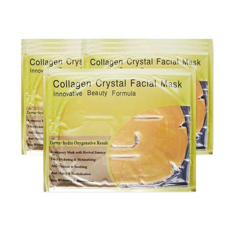 Harga Masker Wajah Gold jual gold mask collagen maker wajah harga