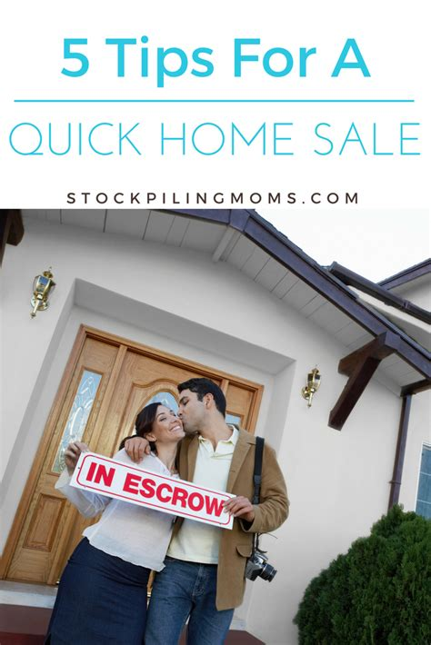 quick house sale 5 tips for a quick house sale