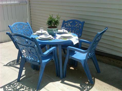Paint For Outdoor Plastic Furniture by Plastic Patio Furniture Sets Patio Design Ideas