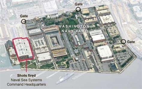 washington dc map navy yard us naval base shooting with 12 dead plus shooter killer