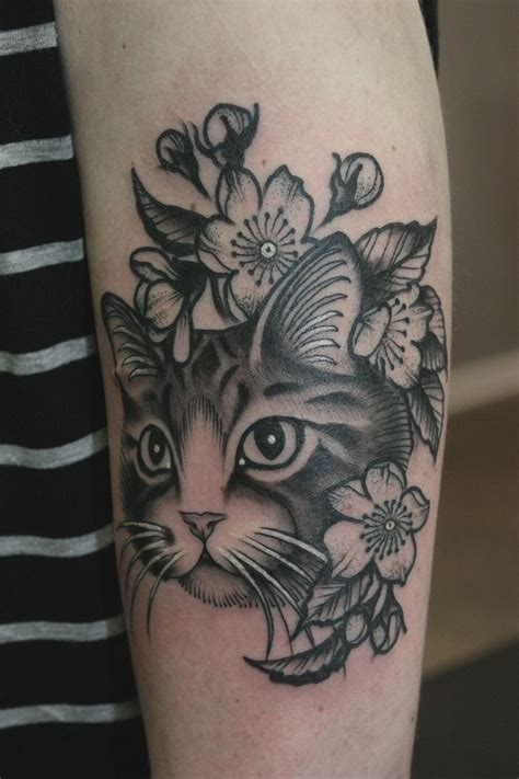 cat heart tattoo 345 best cattoos images on ideas cat