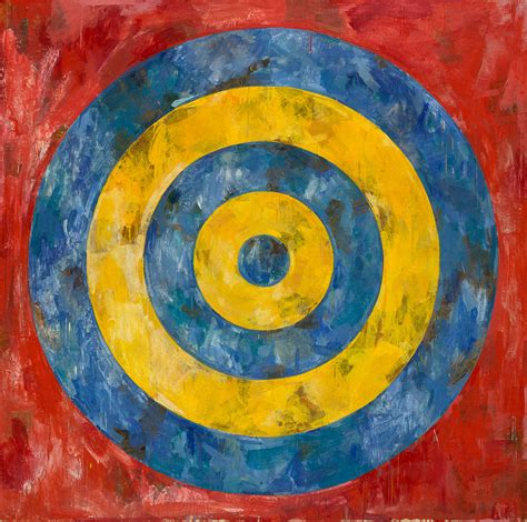jasper johns the broad