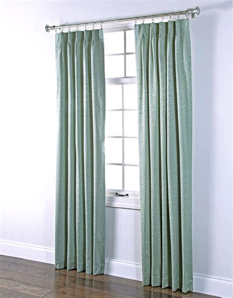 seafoam green drapes portland pinch pleated foam back drape pair renaissance