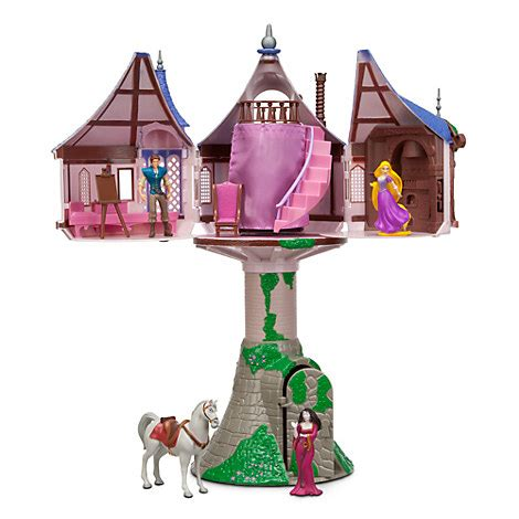 Rapunzell Mp rapunzel tower play set tangled disney store