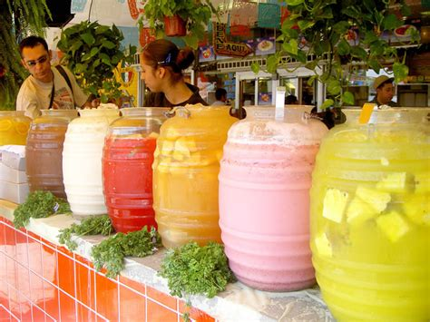 Glass Vases For Candy Bar Aguas Frescas Fresh Waters The Flavours Of Mexico